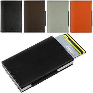 OGON-Alu-Leder-EC-Kartenetui-Kreditkartenetui-OGON-Geldboerse-Portemonnaie-RFID