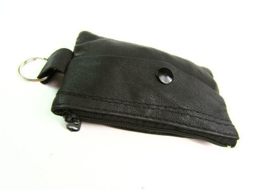 Uomo DONNA PICCOLA IN VERA PELLE MEDAGLIA Pouch Keycase CARD HOLDER Purse Wallet