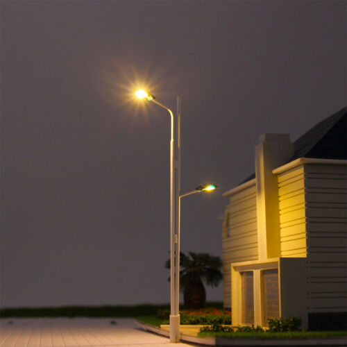 LED Leuchte Strassenlampen 110mm 12-18V H0 LYM04 Neu 10 Stk 00