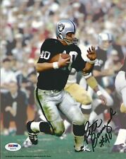 Pete Banaszak Signed Raiders 8x10 Photo PSA/DNA COA Picture Auto'd Super Bowl XI