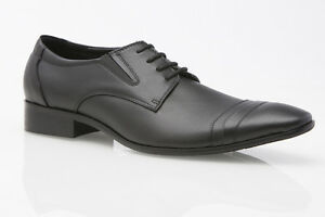 MENS-AUSTRALIAN-DESIGN-BLACK-BROWN-LEATHER-DRESS-CASUAL-WORK-FORMAL-MEN-039-S-SHOES