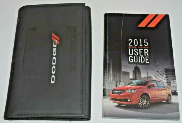 2019 Dodge Grand Caravan Owners Manual Book Set Manual Guide