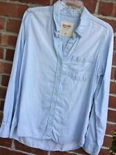 Merona Denim Shirt  L may fit M Tunic Top Blouse Chambray
