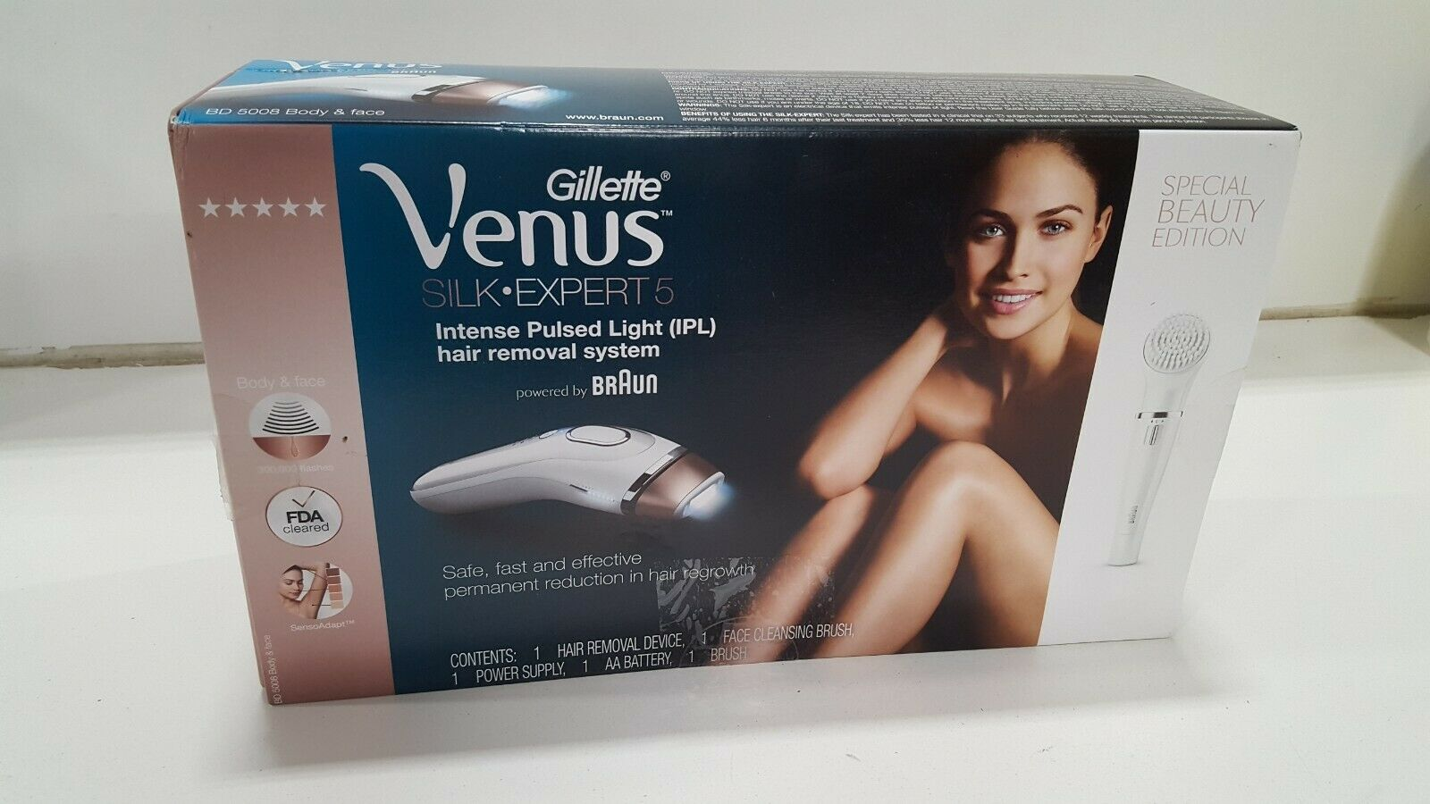 Gillette Venus Silk Expert Intense Pulsed Light Hair Removal