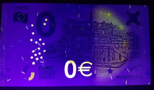 PORTO Portugal 0 Euro Souvenir Note 2018 Series 1 City of Porto Newly Released