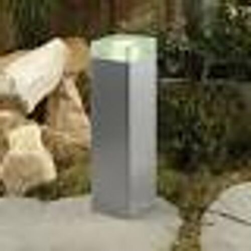 anthrazit-silber Techmar Wegeleuchte Gartenleuchte 12 Volt Malva Aluminium