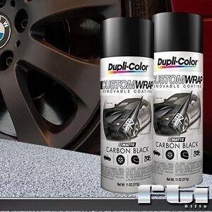 2 dupli color matte carbon black custom wrap removable. Black Bedroom Furniture Sets. Home Design Ideas