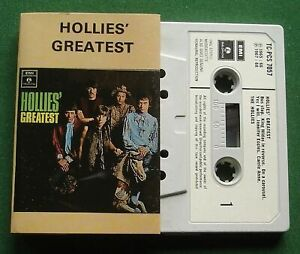Hollies Greatest inc Yes I Will / I'm Alive / Bus Stop + Cassette Tape - TESTED
