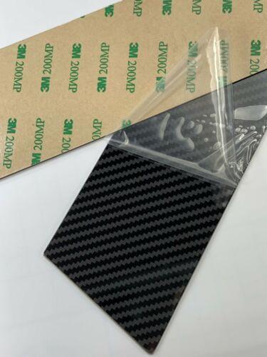 Carbon Fiber Look Pillar Panels Door Window Trim Cover 6pcs 14-19 Corolla Sedan