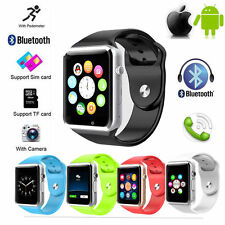 Smart Wrist Watch Bluetooth GSM Phone For Android Samsung Smartphone with SIM