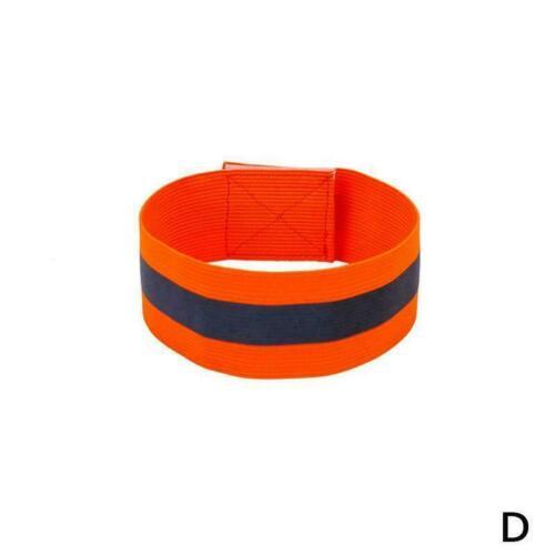 Reflektierende Arm-Band-Haken-Schleifen-Sicherheitsbänder für das Radfahren P4D2