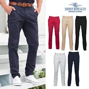 Casual Business Trousers Ausgezeichnet Im Kisseneffekt Front Row Lightweight Stretch Tag Free Chinos fr621