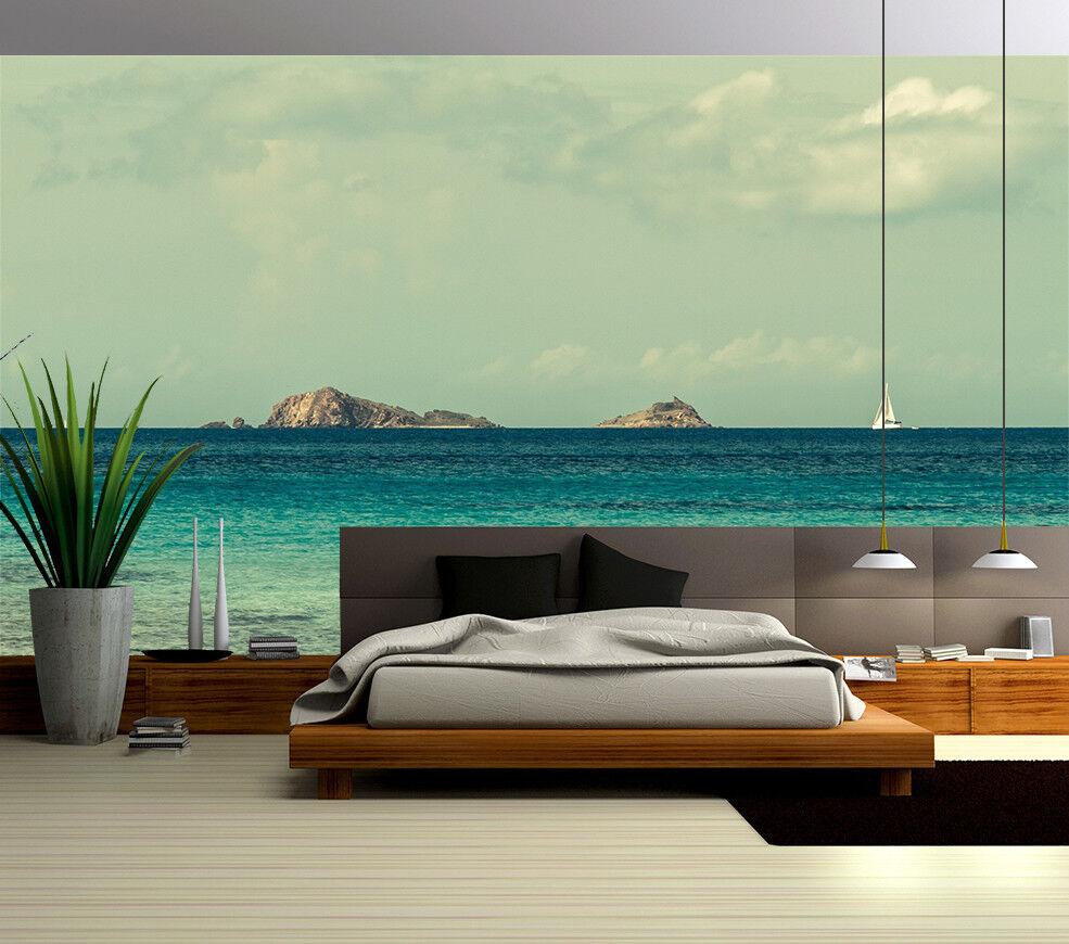 3D Ocean Bule 412 Wallpaper Murals Wall Print Wallpaper Mural AJ WALL UK Summer