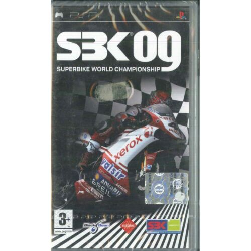 SBK 09 Superbike World Championship Video game PSP Black Bean Sealed
