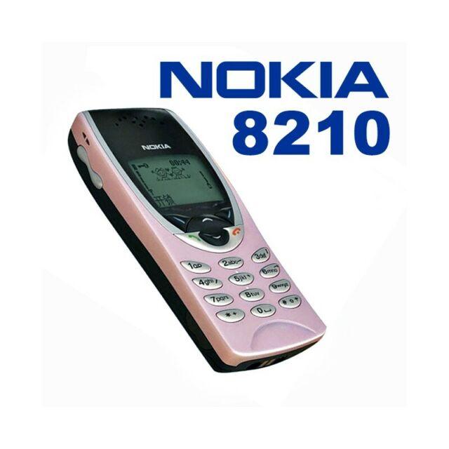Teléfono Móvil Nokia 8210 Rosa Gsm Ligero Pequeño Juegos Top Calidad