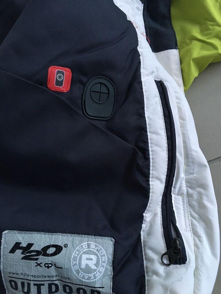 Skijakke, H2O, str. Large