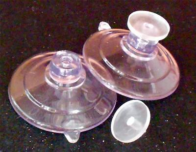 """6  1-3/4"""" X-Duty USA Industrial Suction Cups Top Hole Clear Tack suctioncups4u"""