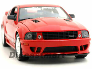 WELLY-1-18-2007-SALEEN-FORD-MUSTANG-S281E-RED