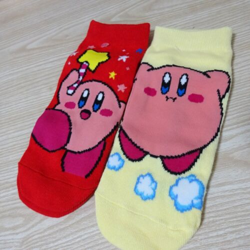 Lot of 2 Star/'s Kirby  Ladies Socks for Stars From Japan 23~25㎝ Hovering