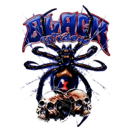 * Spinne Gothic Skull Spider Totenkopf  Punk Damen Girl T-Shirt *4283