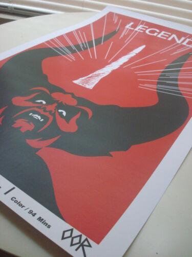 Legend movie poster print