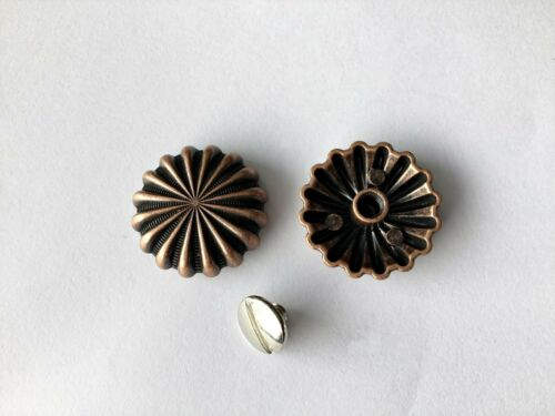 """1 Concho Cast//Old Copper approx 32mm 1 1//4/"""" sublime"""
