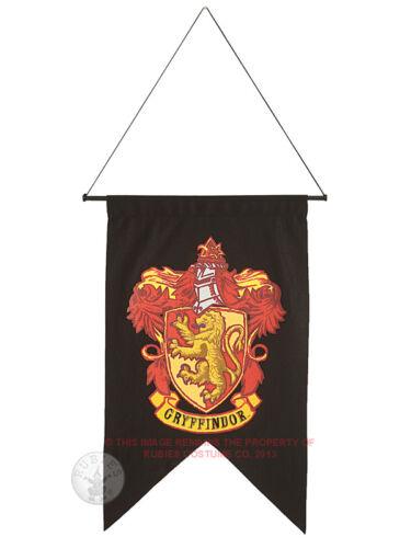 50 x 76cm Licensed Harry Potter Gryffindor Hogwarts Banner Fancy Dress Flag BN