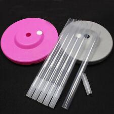4x Plastic Sticks Clear Pole For Balloon Arch Column Base Stand Wedding Decor JE