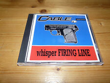 Cable - Whisper Firing Line CD Single / EP (1996)