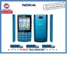 Brand New Nokia X3-02 Blue Touch & Type 3G Unlocked Mobile Phone 1 Year Warranty