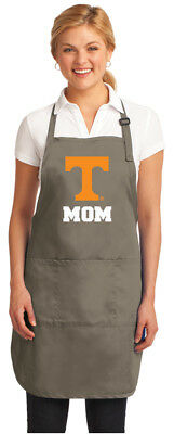 Broad Bay University of Tennessee Mom Aprons NCAA Tennessee Mom Apron w//Pockets