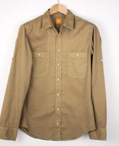 HUGO BOSS Herren Califoe Freizeithemd Größe M AMZ856
