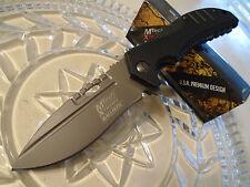 Mtech Xtreme Ballistic Assisted Dean Hogarth Pocket Knife MX-A817GY Titanium New