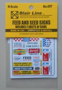 N-Feed-amp-Seed-Signs-SCALE-TRAIN-LAYOUT-DIORAMA-BLAIR-LINE-057