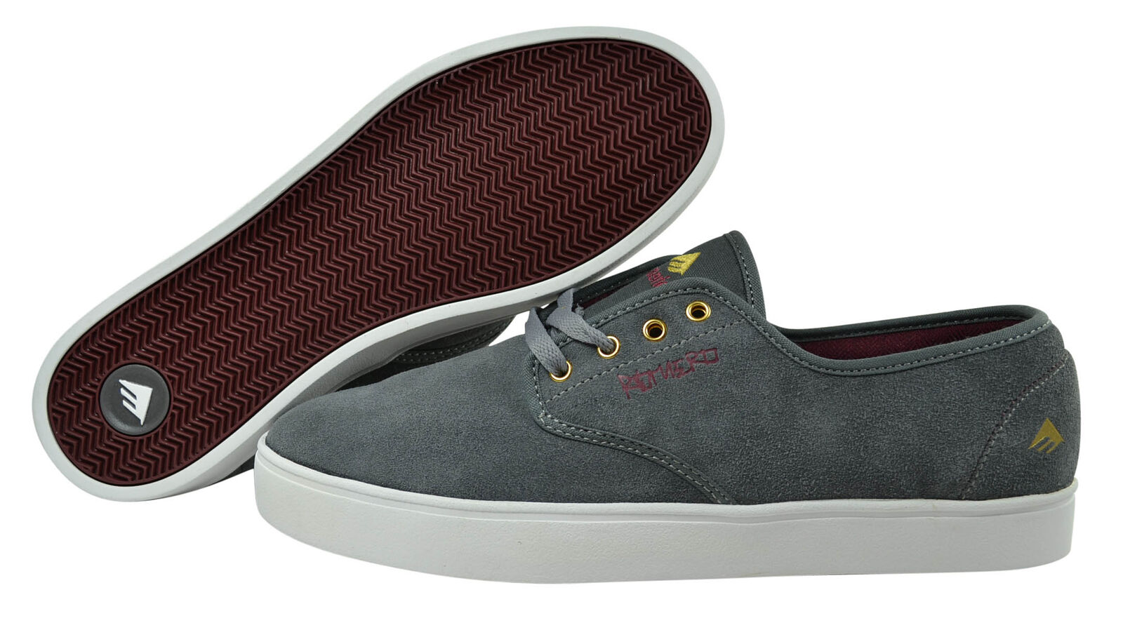 Emerica Laced By Leo Romeo Skater Schuhe/Sneaker grey/light/red