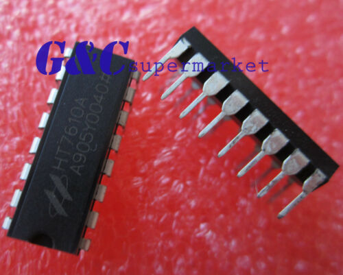 10pcs HT7610A HT7610 HOLTEK DIP16 New Good quality D32