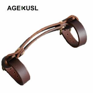 AGEKUSL-Bike-Carry-Handle-Tape-Strap-Belt-For-Brompton-Bike-Vintage-Leather