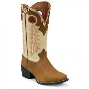 Tony-Lama-SIZE-11-5-LL400-Youth-3R-Western-Boots-Tan-NWT