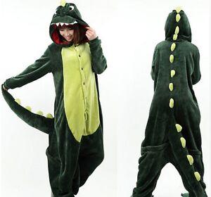 Pyjama-CROCODILE-DINOSAURE-Taille-L-Deguisement-Kigurumi-NEUF-Japon-Kawai