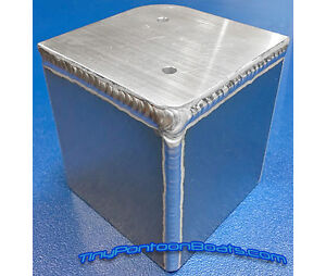 Details about 90 DEGREE PONTOON BOAT DECK CORNER CAP FABRICATED ALUMINUM  FOR 4