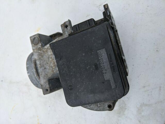 Bosch 0280203035 Mass Air Flow Meter Sensor BMW and ALFA ROMEO 164 V6 RARE
