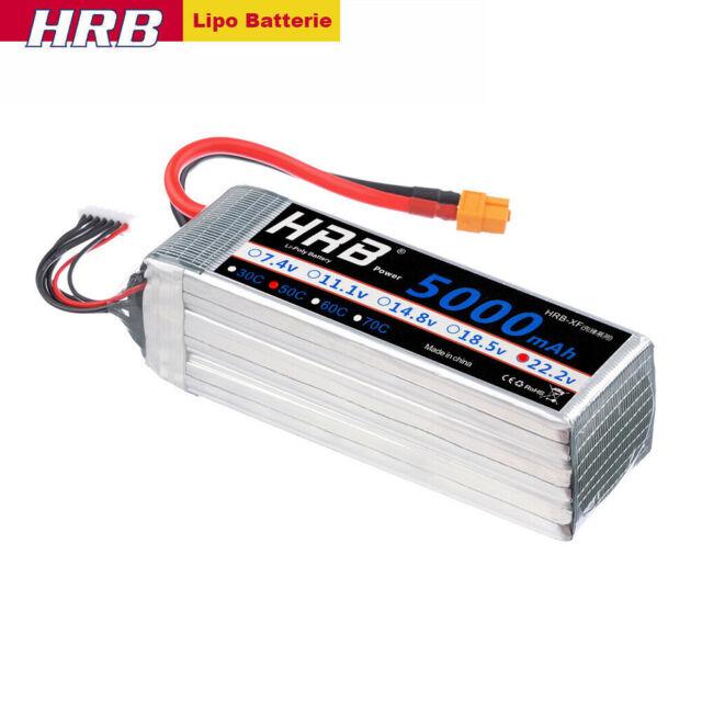 3X 4S 45C 14,8V 2200mAh Lipo Batterie Akku Deans für RC Auto Hubschrauber Drohne