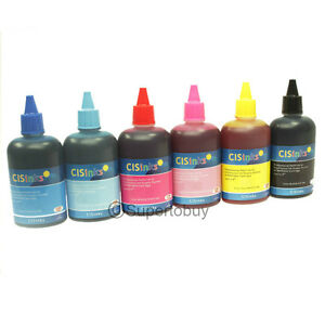 6-Pack-Compatible-Refill-Ink-Bottles-for-Epson-Artisan-600-700-710-725-730-CISS
