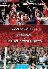 1 of 1 - FA Cup Final 2005 - Arsenal Vs Manchester United (DVD, 2005, 2-Disc Set)