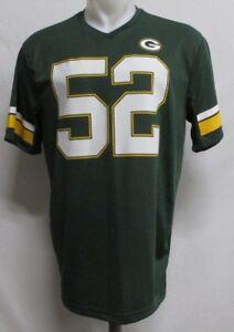 Green Bay Packers Men s NFL  52 Clay Matthews Dark Green Jersey ... 01a1788e9