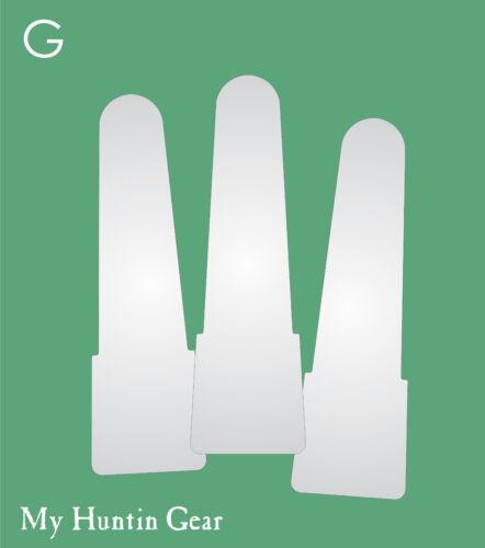 Item G 3 Mylar Replacement Reeds Mallardtone M-295 Duck Call My Huntin Gear