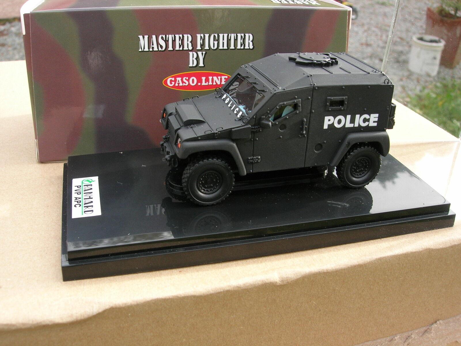 MASTER FIGHTER 1 48 PANHARD PVP APC 4X4 Blindé POLICE 48532N