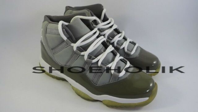 huge discount 4a43d 94dc9 Nike Air Jordan 11 XI Patent Leather Cool Grey Size 12 136046 011