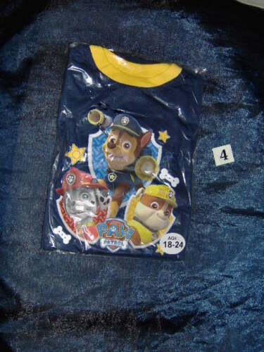 AGE 18//24M ASSORTED DESIGNS A SELECTION OF FLAT PACKED BOYS DISNEY PYJAMAS