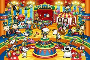 1000-piece-jigsaw-puzzle-peanuts-Circus-50x75cm